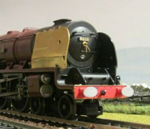 Silver Tay Models 4mm (00) Etched smoke deflectors: LMS Duchess