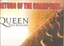 """QUEEN + PAUL RODGERS """"Return Of The Champions"""" Limited 3LP Vinyl Box sealed"""