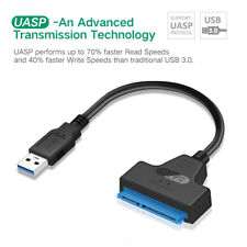 "USB 3.0 to SATA III 22pin (7Pin + 15Pin) Data Cable Adapter for 2.5"" SSD 10-224"