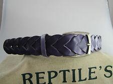 ORIGINALE REPTILE'S housegürtel herrnledergürtel + Fermoir Ceinture de rechange