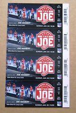 Red Wings Nick Lidstrom #5 Retire - Last Season at JLA Season Tickets Sheet Orig