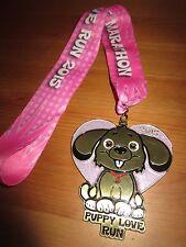 The Puppy Love Run Marathon Running Owner Medal