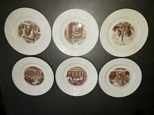 Brown University Wedgewood Collector Plates 6-Piece Free Shipping