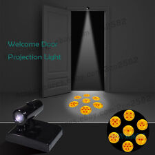 Wireless JP Anime DragonBall Z Home Party Door Projector Shadow LED Logo Lights