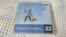 Pfaff Creative Fantasy embroidery Card FLY FISHING #33  7570,7560, 2140,2170 EXC