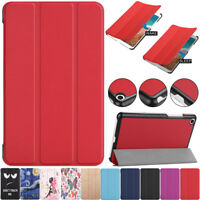 """Shockproof For Xiaomi Mi Pad 4 8"""" Tablet Magnetic Case PU Leather Smart Cover"""