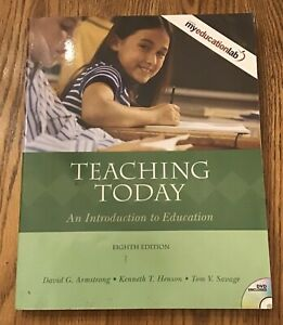 Teaching Today: An Introduction to Education ~ Eighth Edition 8th ~ Armstrong