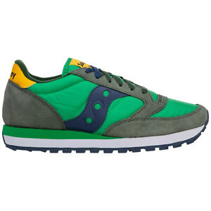 Saucony sneakers men jazz 2044602 logo detail suede shoes trainers gym