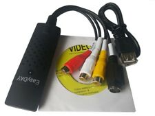 Easycap USB 2.0 Audio TV Video VHS to DVD PC Capture Card Grabber for WIN 7 8 10