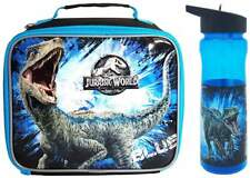 Jurassic World: Fallen Kingdom 'Blue' Lunch Bag/Box and Sports Bottle (600ml)