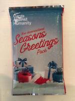 Cards Against Humanity 2017 Seasons Greetings Pack Non Demonational Christmas