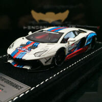 Henson&Heaven Liberty Walk MARTINI Lamborghini LP700 Aventador 2.0 DIECAST CAR