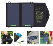 Solar Panels Charger Portable Battery Charging For Mobile Phone Hiking Outdoors