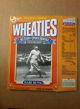 Babe Ruth Wheaties Box 1993
