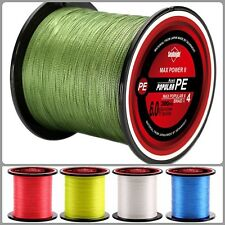Fishing Reel Line Thin 300M Saltwater Freshwater Fish Wire 4 Strands Braided Fly