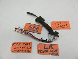 ESCAPE LEFT REAR DOOR PANEL WIRE HARNESS LATCH POWER WINDOW MOTOR SPEAKER LOCK