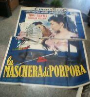 Die Maske Von Lila Manifesto 4F Original 1955