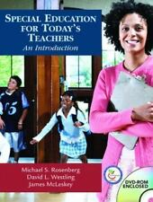 Special Education for Today's Teachers: An Introduction, McLeskey, James, Westli