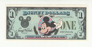 Disney 1 dollar 1987 UNC @ low start