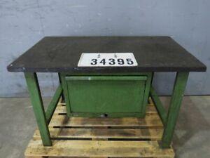 Lista Werkbank Werktisch Arbeitstisch Packtisch Retro Vintage Loft Art #34395
