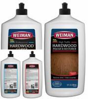 Weiman Hardwood Floor Cleaner & Polish Restorer Combo - 2 Pack -...
