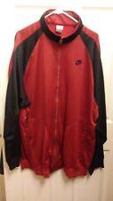 Nike Mens Red Black  Jacket XL LONG