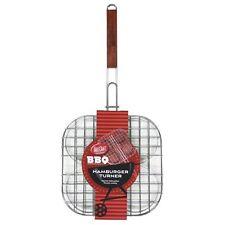 TableCraft BBQ Series 4 Patty Hamburger Turner / Grilling Basket