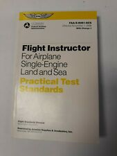 Flight Instructor For Airplane Single Engine Land And Sea Practical Test Stand