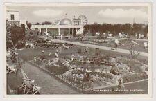 Lincolnshire postcard - Ornamental Gardens, Skegness - RP - P/U 1956