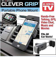 Clever Grip Portable Phone Mount Car Cell Phone Holder Good for All
