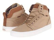 VANS Alomar (T&L) Khaki/White Hi Skate Shoes MEN'S 7 WOMEN'S 8.5