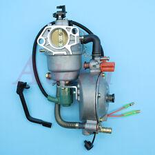 Dual Carb Fit Honda GX360 GX390 GX420 188F 190F 4-5KW Generator Gasoline/LPG/CNG