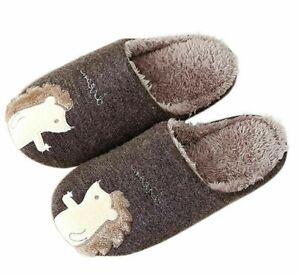 Slippers Cotton Winter Home Indoor Shoes For Ladies Slides Slip On Footwear Shoe
