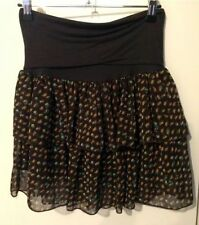 Polyester Bubble Mini Skirts for Women