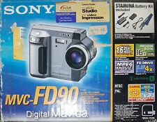 Sony Mavica MVC-FD90 1.6MP Digital Camera - Black
