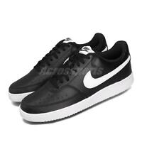 Nike Court Vision Low Black White Mens Casual Shoes Retro Tennis CD5463-001