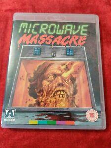 MICROWAVE MASSACRE - USED REGION FREE (ABC) BLU-RAY & REGION 0 DVD COMBO