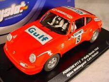 FlySlot Porsche 911 Carrera S #8 Bjorn Waldegard Gulf 1968 036108 MB 1/32