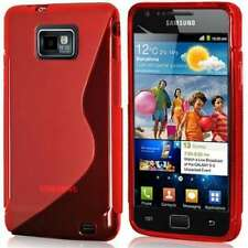 Samsung i9100 Galaxy S2 S-Line Gel Case, Red