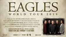 "Eagles ""World Tour 2019"" Concert Poster With Australia & New Zealand Tour Dates"