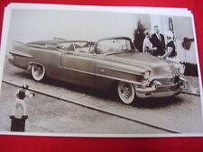 1956 CADILLAC ELDORADO BIARRITZ  CONVERTIBLE    BIG   11 X 17  PHOTO   PICTURE