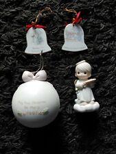 New ListingPrecious Moments Lot of 4 Enesco Porcelain Figurines