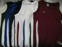 Nike Team Lacrosse Basketball V-Cut Practice Game Jersey Tank Shirt Womens Lady
