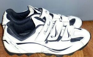 WOMENS PEARL IZUMI ALL ROAD II WHITE 15213001 CYCLING SHOES W/ CLEATS 42 OR 10