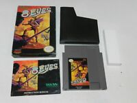 8 Eyes Nintendo NES Game Complete in Box Tested 1 Owner