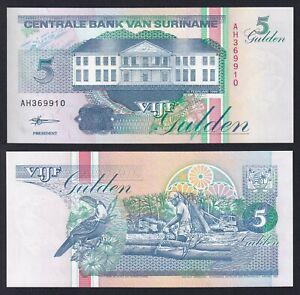 Suriname 5 gulden 1998 FDS/UNC  A-02