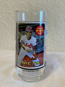 1993 McDonalds Glass Nolan Ryan Baseball MLB Topps All Time Greatest Team