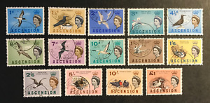 ASCENSION ISLAND 1963 SG 70/83 USED Cat £55
