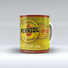 Pennzoil Oil Can Vintage Garage Style Coffee Mug 11 oz Collectible