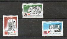 Finlandia Cruz Roja serie del año 1970 (CL-608)